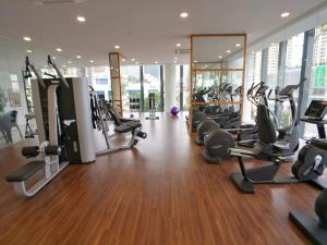 The fitness centre and/or fitness facilities at The Landmark Seaview Gurney