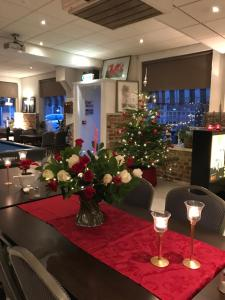 Restaurant ou autre lieu de restauration dans l'établissement Hotel Valkenhof