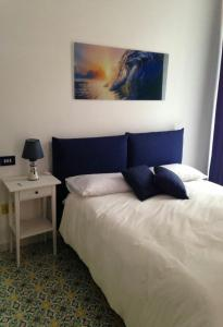 A bed or beds in a room at Il sorriso
