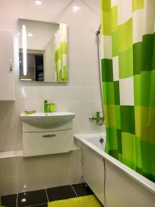 Ванная комната в Апартаменты на Ленина 130