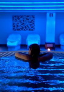 The swimming pool at or near Hotel & Spa Real Ciudad De Zaragoza