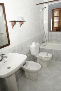 A bathroom at Casa España