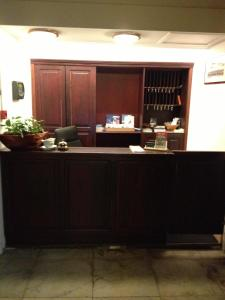 The lobby or reception area at De Doelen