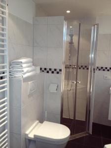 A bathroom at De Doelen