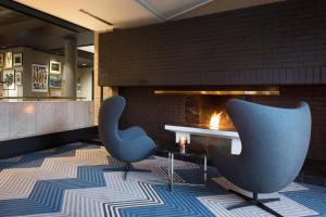 A seating area at Radisson Blu Park Hotel, Oslo