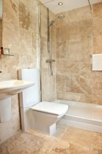 A bathroom at Airth Castle Hotel