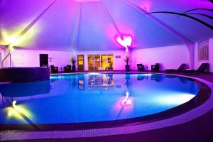 The swimming pool at or near Airth Castle Hotel