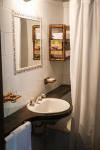 Un baño de Aguapé Lodge