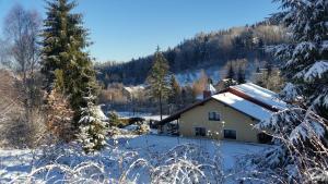 Obiekt Willa DINA zimą