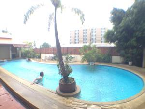 The swimming pool at or near Narawan Hotel, Hua Hin