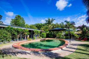 The swimming pool at or near Hervey Bay Tourist Park