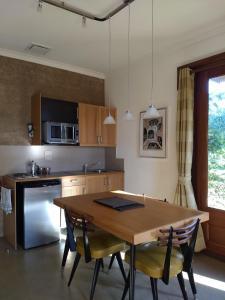 A kitchen or kitchenette at Hotham Ridge Estate