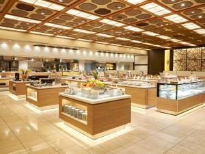 A restaurant or other place to eat at Hotel Green Plaza Hakone
