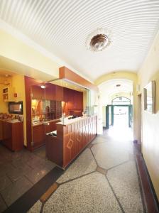 El vestíbulo o zona de recepción de Hotel Bergwirt Schönbrunn