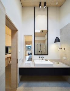 Ein Badezimmer in der Unterkunft Das Tegernsee