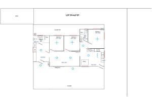 The floor plan of Breakaway Views 374 ALP ST