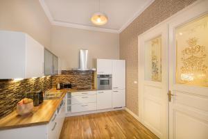 Cucina o angolo cottura di Luxurious Apartments Ujezd