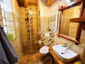 Łazienka w obiekcie Uroczysko