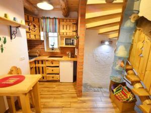 Kuchnia lub aneks kuchenny w obiekcie Uroczysko