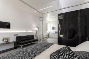 Letto o letti in una camera di Nostos rooms & Apartments