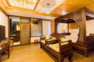 A seating area at Sunlight-Horoyoi Homestay