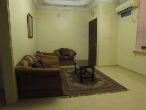 Uma área de estar em Iwan Alandalusia Al Safa
