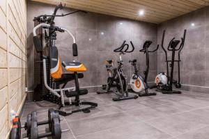 Centrum fitness w obiekcie Apartament Tatrzanski Raj
