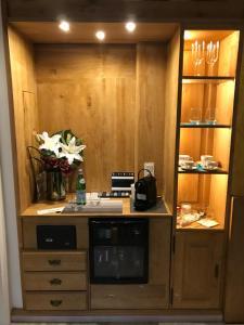 Küche/Küchenzeile in der Unterkunft Eis Cafe Garibaldi