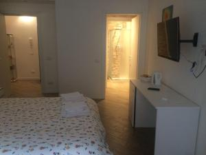A bed or beds in a room at B&B Via Fontana Milano