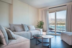 Гостиная зона в Argostoli Marina Suites