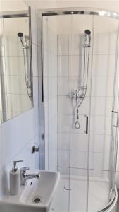 Kúpeľňa v ubytovaní Cracow Central Aparthotel
