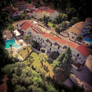 A bird's-eye view of Alfa Hotel
