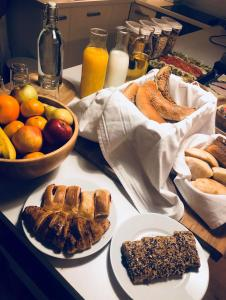 Breakfast options available to guests at Hotel Old Sarajevo