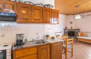 Η κουζίνα ή μικρή κουζίνα στο Pantheon Apartments
