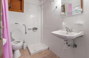 Ένα μπάνιο στο Pantheon Apartments