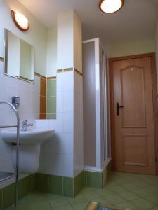 Kúpeľňa v ubytovaní Penzion Sina