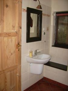 Łazienka w obiekcie Pod Dobrym Źródłem