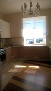 Кухня или мини-кухня в Апартаменты на Терской,84