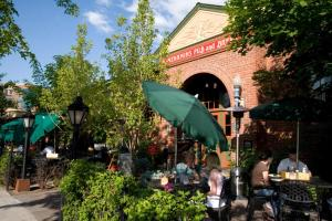 A restaurant or other place to eat at McMenamins Old St. Francis School