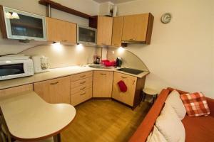 Kuchnia lub aneks kuchenny w obiekcie Baltic Apartments - Apartament Solaris