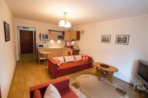 Część wypoczynkowa w obiekcie Baltic Apartments - Apartament Solaris