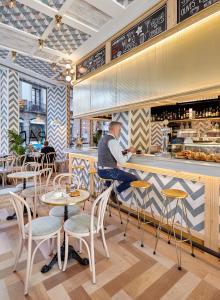 Restaurace v ubytování Hotel Barcelona Catedral