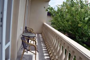 A balcony or terrace at Usadba Mirada