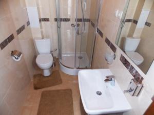 A bathroom at Usadba Mirada