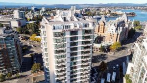 A bird's-eye view of DoubleTree by Hilton Hotel & Suites Victoria
