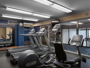 The fitness center and/or fitness facilities at Hampton Inn & Suites Myrtle Beach Oceanfront