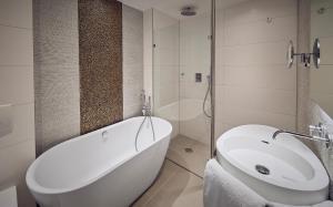 Salle de bains dans l'établissement Albus Hotel Amsterdam City Centre