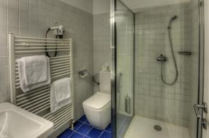 Koupelna v ubytování Itvv