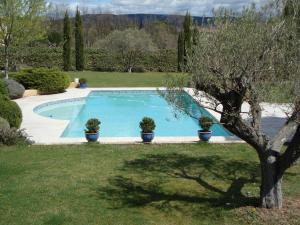 The swimming pool at or near La Guéritaulde