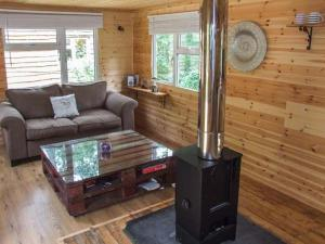 A seating area at Waney Lodge